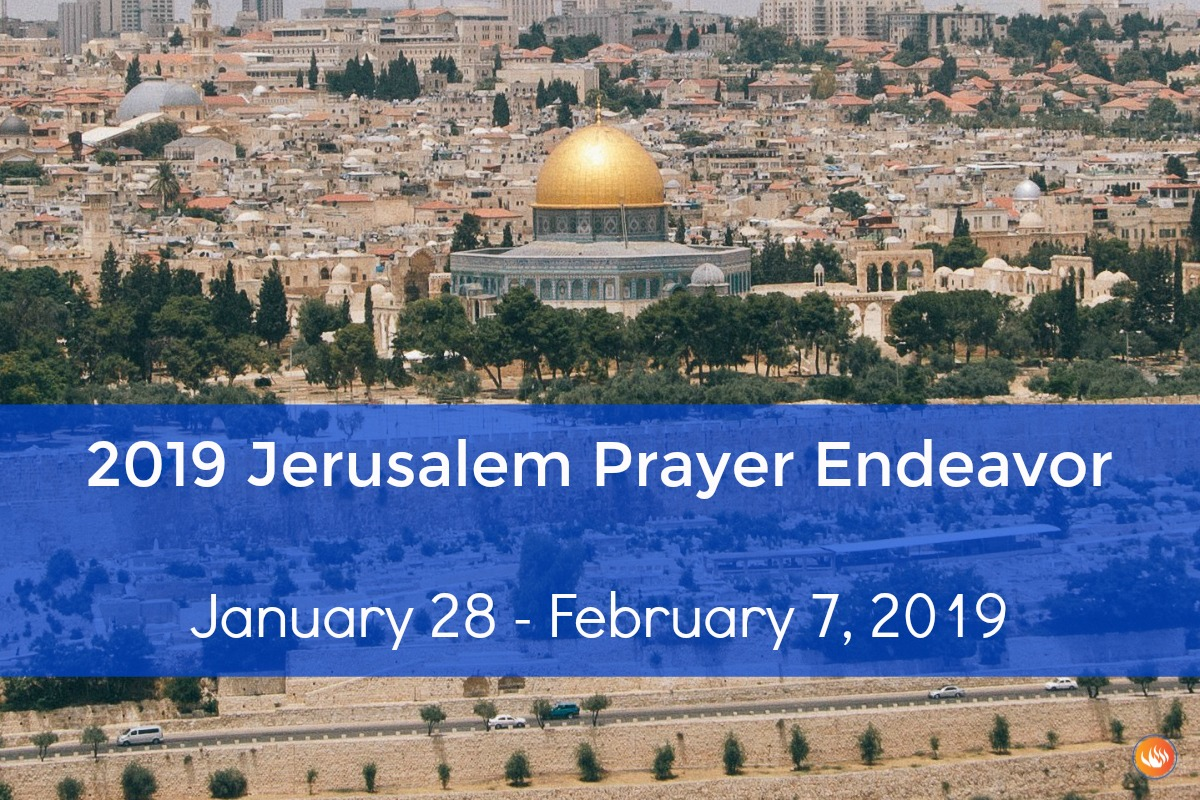 Jerusalem Prayer Endeavor 2019