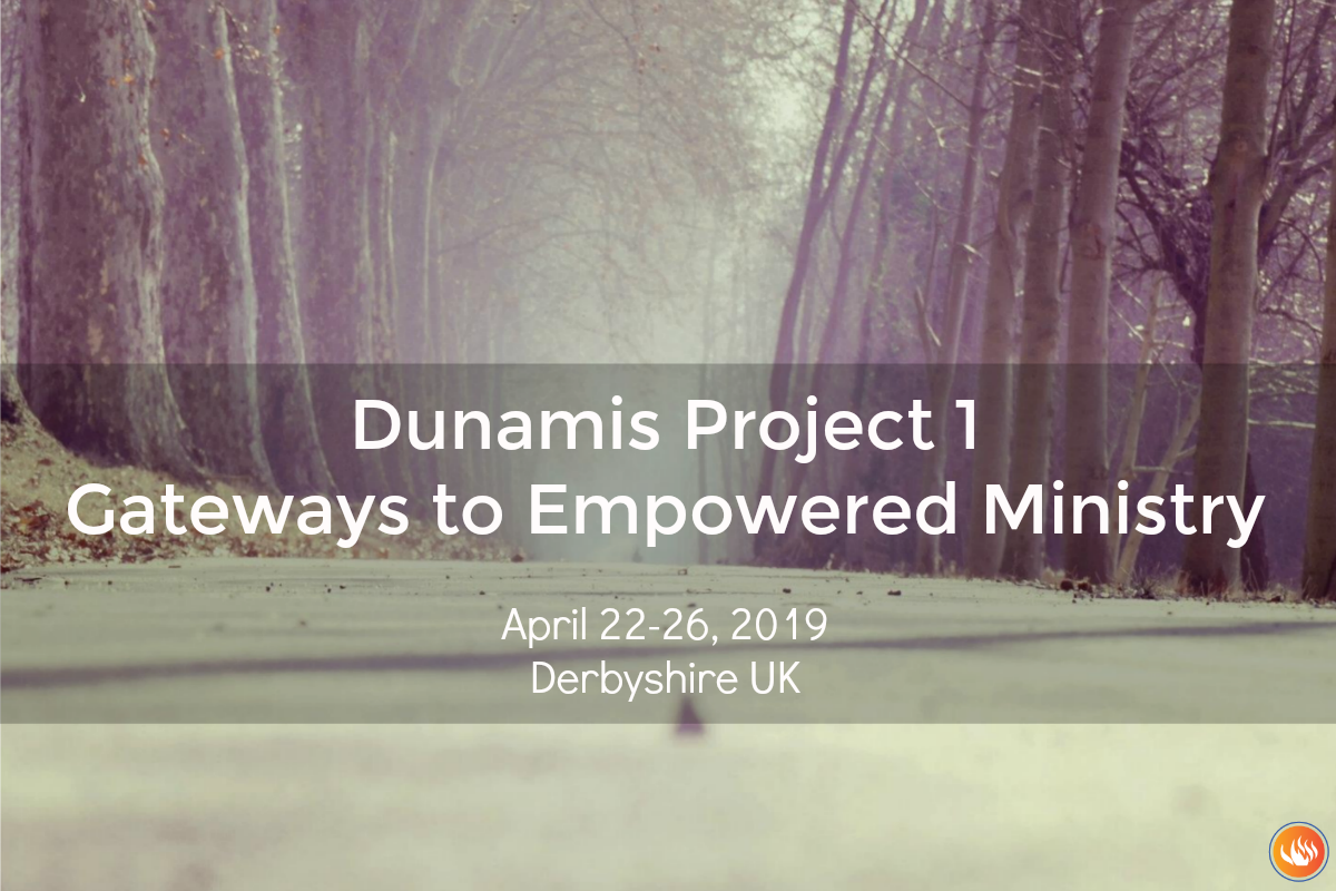 Dunamis Project 1 Derbyshire UK 2019
