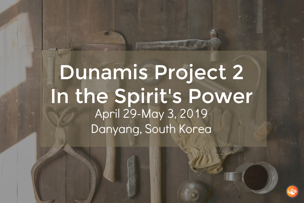 Dunamis Project 2: Danyang South Korea