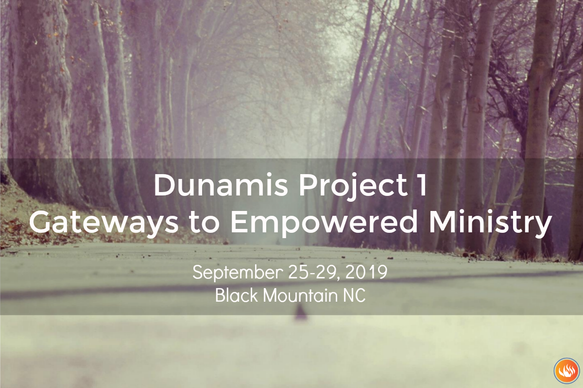 Dunamis Project 1 - Black Mountain NC 2019