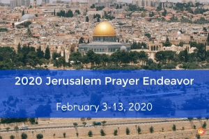 2020 Jerusalem Prayer Endeavor