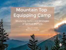 Mountain Top Equipping May 2020 Black Mountain